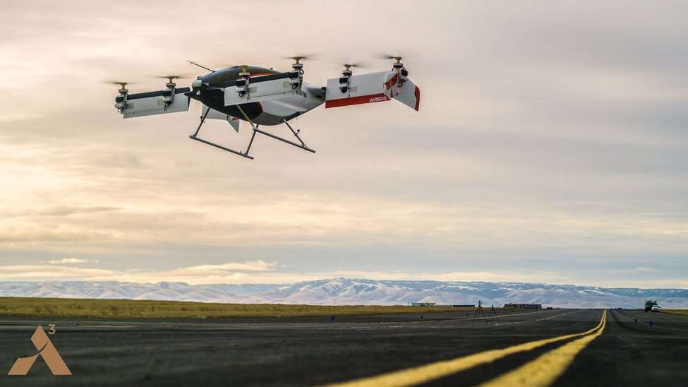 "Airbus Vahana completes ""fully self-piloted"" test flight"