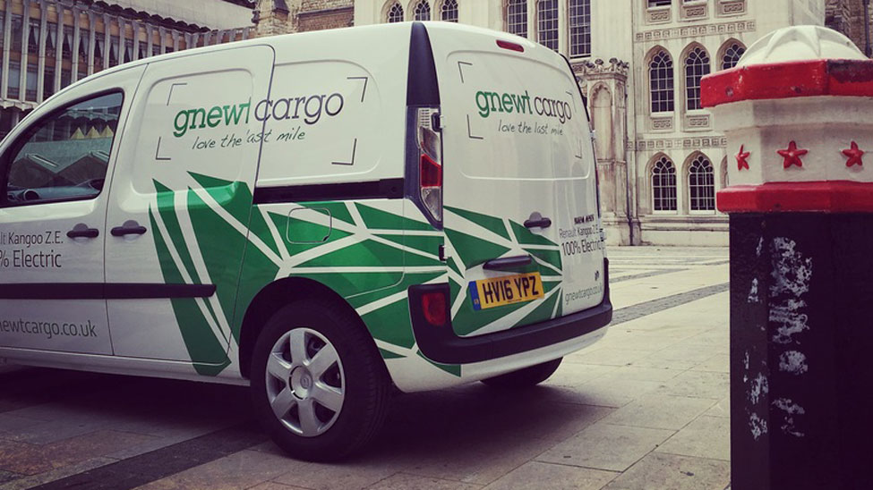 Electric delivery vans an operationally competitive and carbon friendly alternative for London