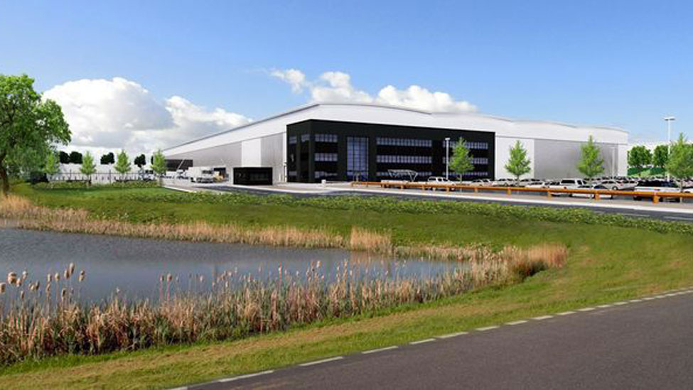 Green light for new employment park with DPD super-hub