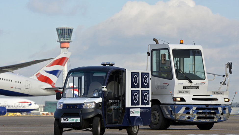 IAG Cargo trialing CargoPod at Heathrow Airport