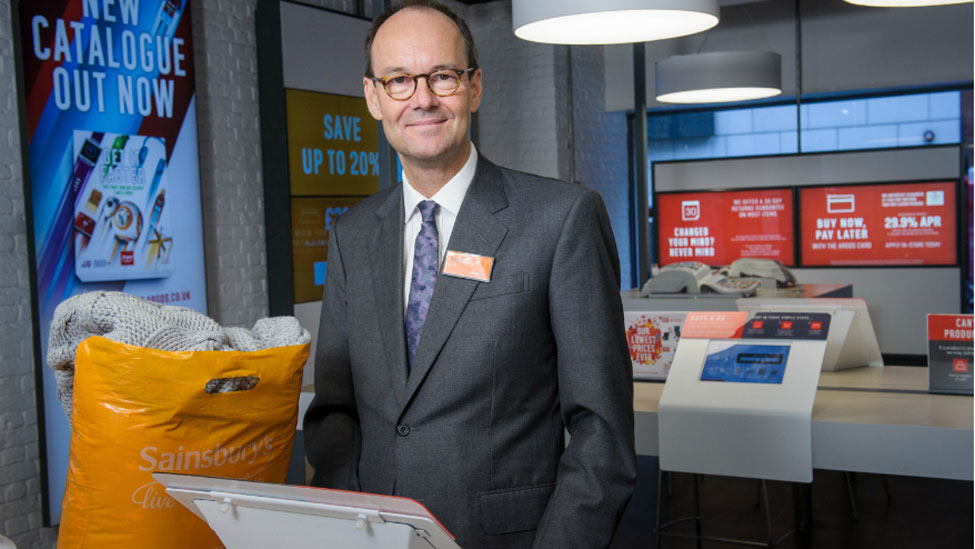 Sainsbury's Tu clothing to be available for next-day home delivery and click and collect at Argos