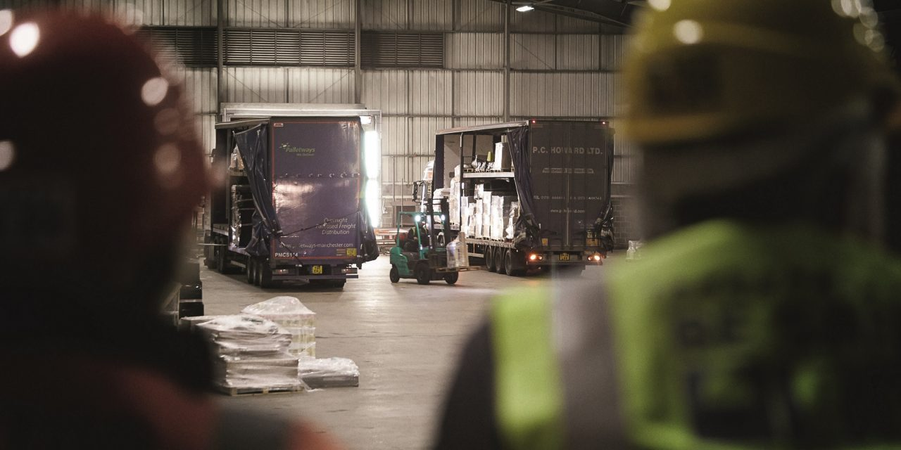Palletways launches evening delivery services