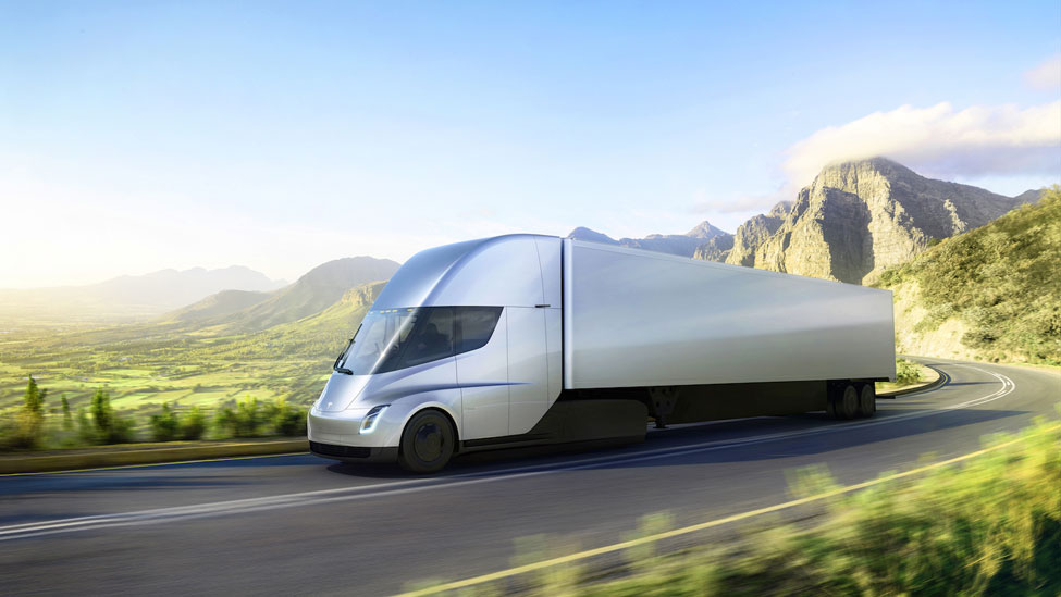FedEx places reservation for 20 Tesla Semi trucks