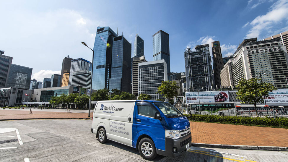 World Courier opens four new offices
