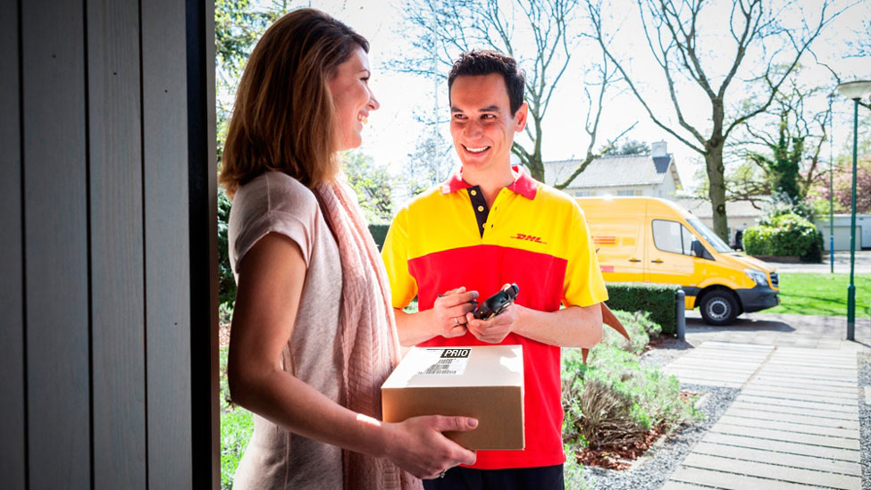 Image result for delivery of dhl