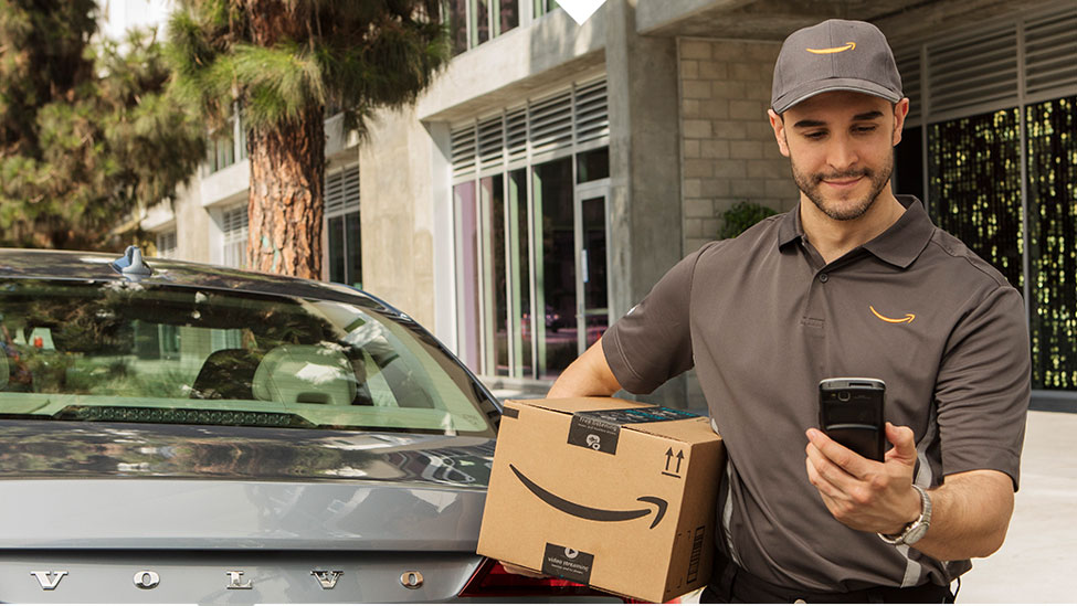 Amazon now delivers to the trunk of your vehicle