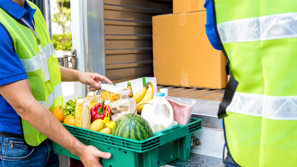 Online food and grocery boom