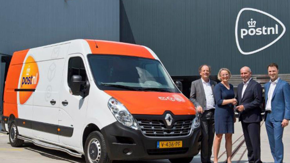 PostNL brings electric vans into operation