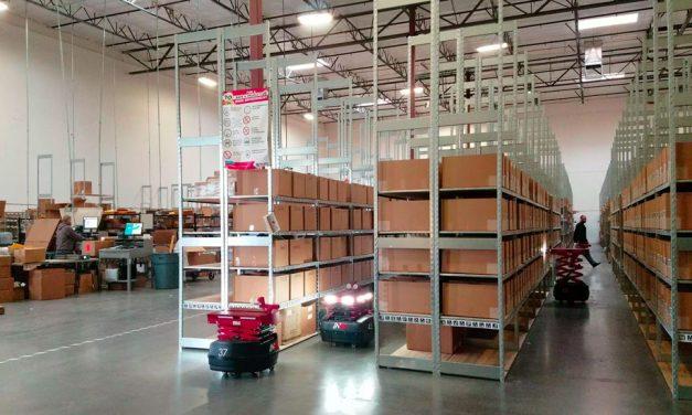 Rakuten using picking robots in Las Vegas warehouse