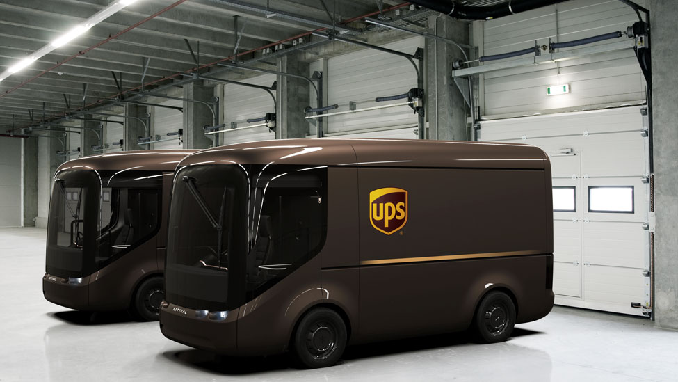 UPS working with ARRIVAL on electric vehicles for London and Paris