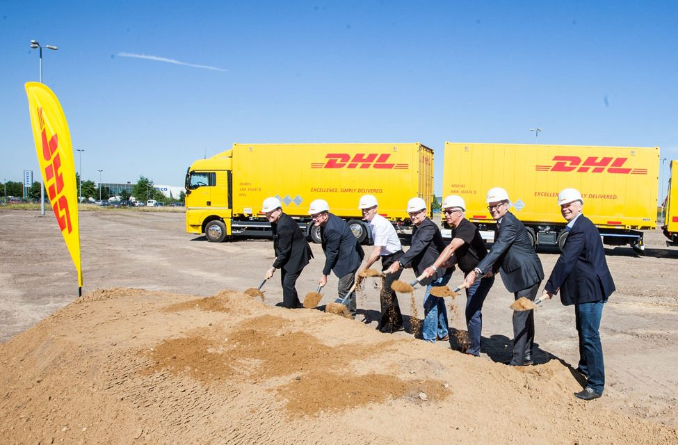 DHL Freight breaks ground on new Hanover hub