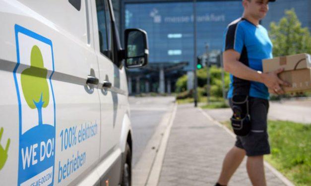 Hermes testing electric vans in Hannover and Frankfurt
