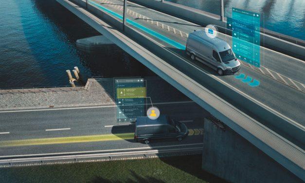 Mercedes-Benz Vans launches new digital services