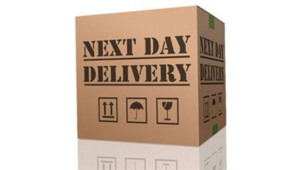 Record high for UK next-day deliveries