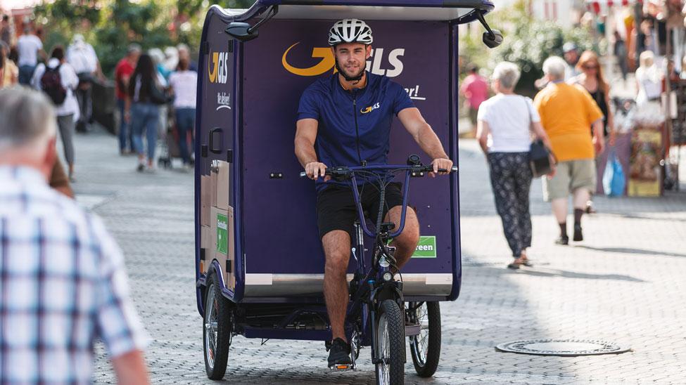 eBike deliveries in Kirchheim