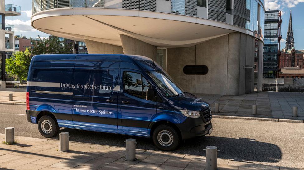 Mercedes-Benz Vans ramps up green logistics options