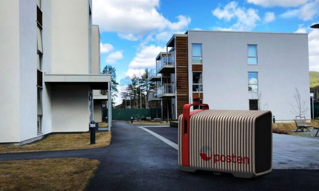 """Posten Norge aims to develop """"the world's first self-driving mail and parcel robot"""""""
