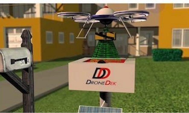 DroneDek given go ahead for last mile drone delivery