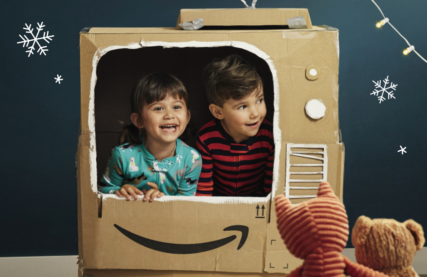 Amazon to post printed festive toy catalogue to millions