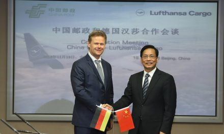 China Post deepens links with Lufthansa