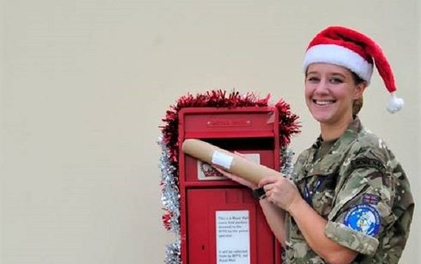 Royal Mail helps troops in Bahrain connect with loved ones