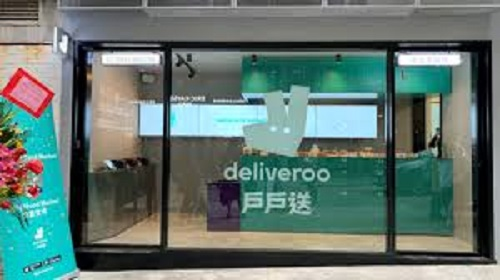 Deliveroo opens food hall in Hong Kong