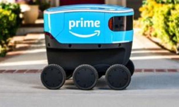 Amazon's autonomous electric trucks take to the streets