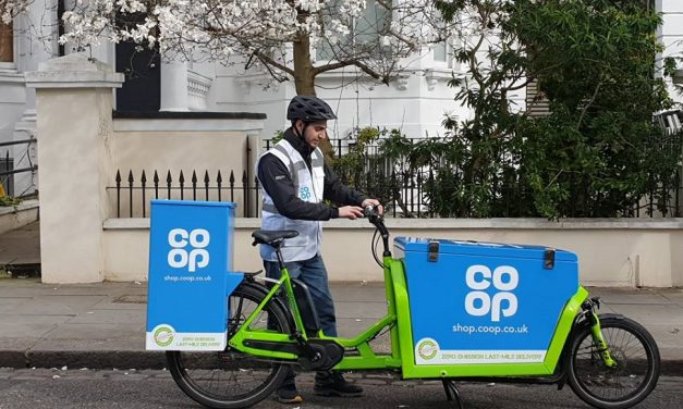Co-op embraces online delivery with the help of e-cargobikes