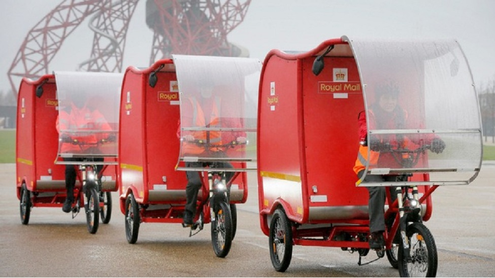 """Royal Mail to help clean up """"London's toxic air"""" with new trial"""