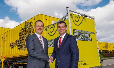Austrian Post tests autonomous courtyard logistics