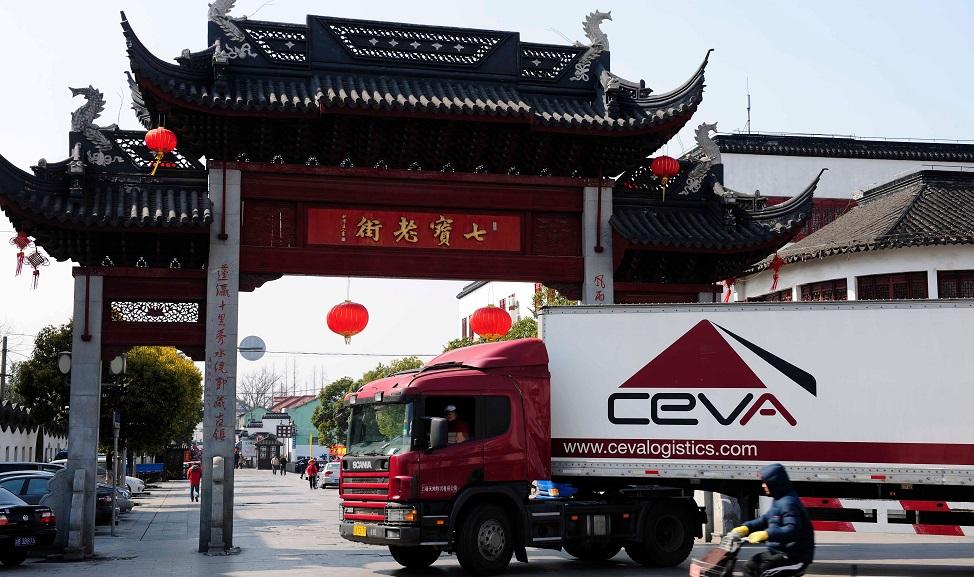 CEVA kicks off regular trucking service between China and Europe