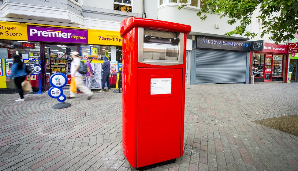 Royal Mail to convert 1,400 postboxes to fit parcels