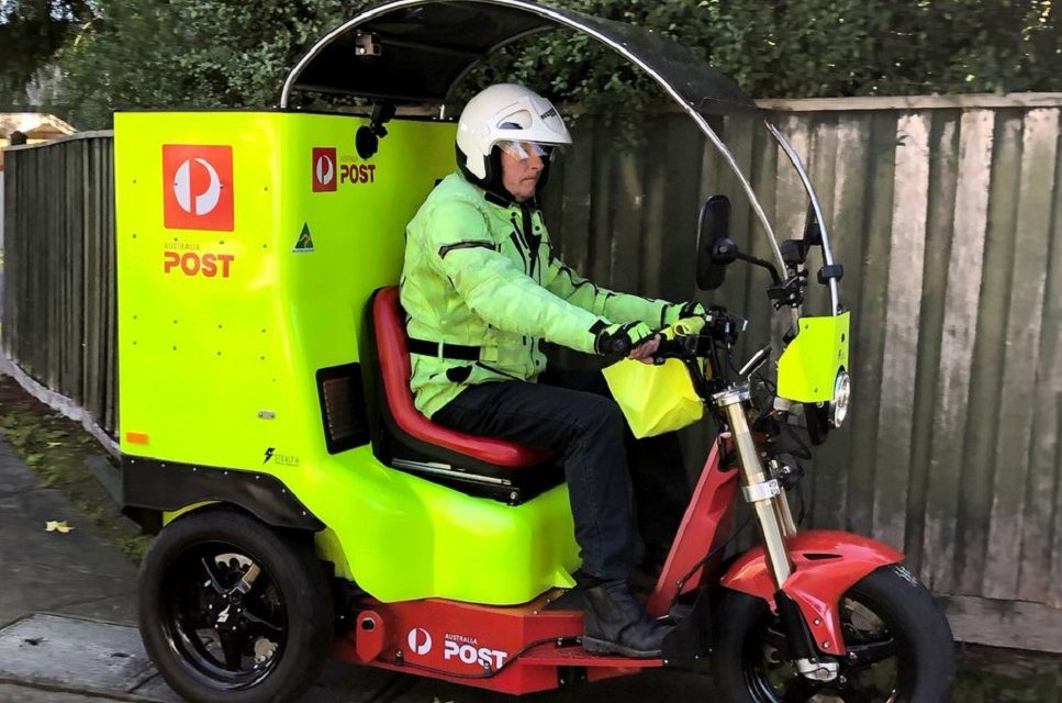 Australia Post trials electric delivery vehicle