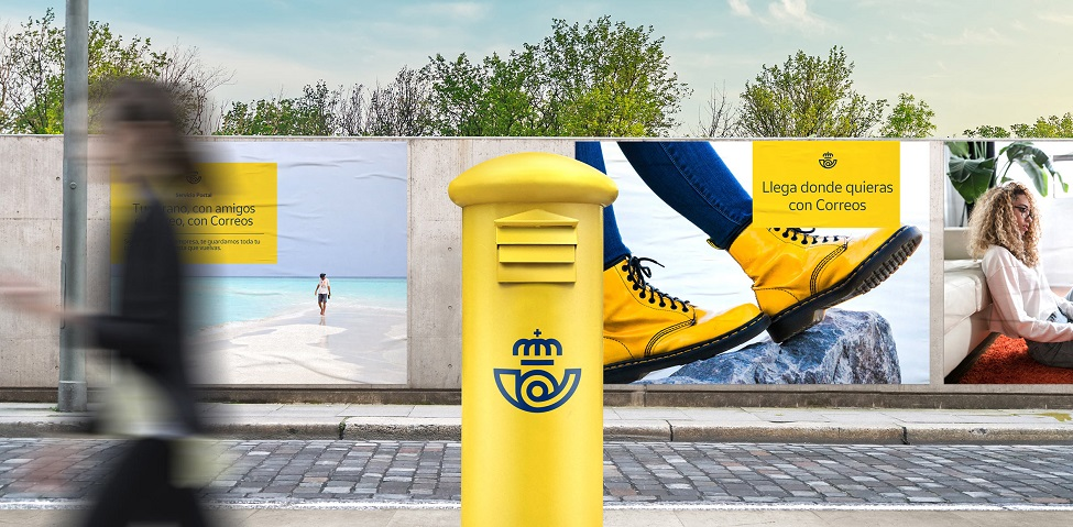 Correos updates its 350 year-old logo