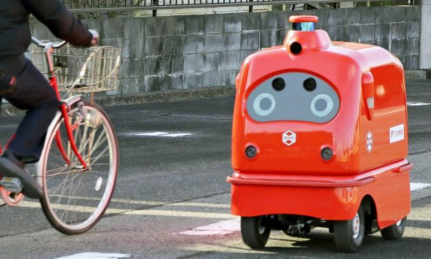 Japanese partners set to road test delivery robots