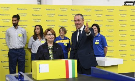 Poste Italiane opens €50 million e-commerce logistics hub