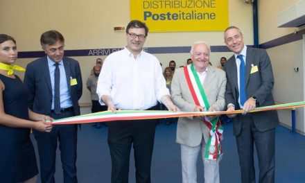 Poste Italiane inaugurates new Varese distribution centre