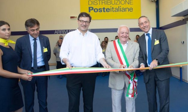 Poste Italiane inaugurates new Varese distribution centre