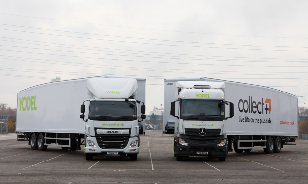 Yodel and CollectPlus take delivery of new fleet of branded trailers