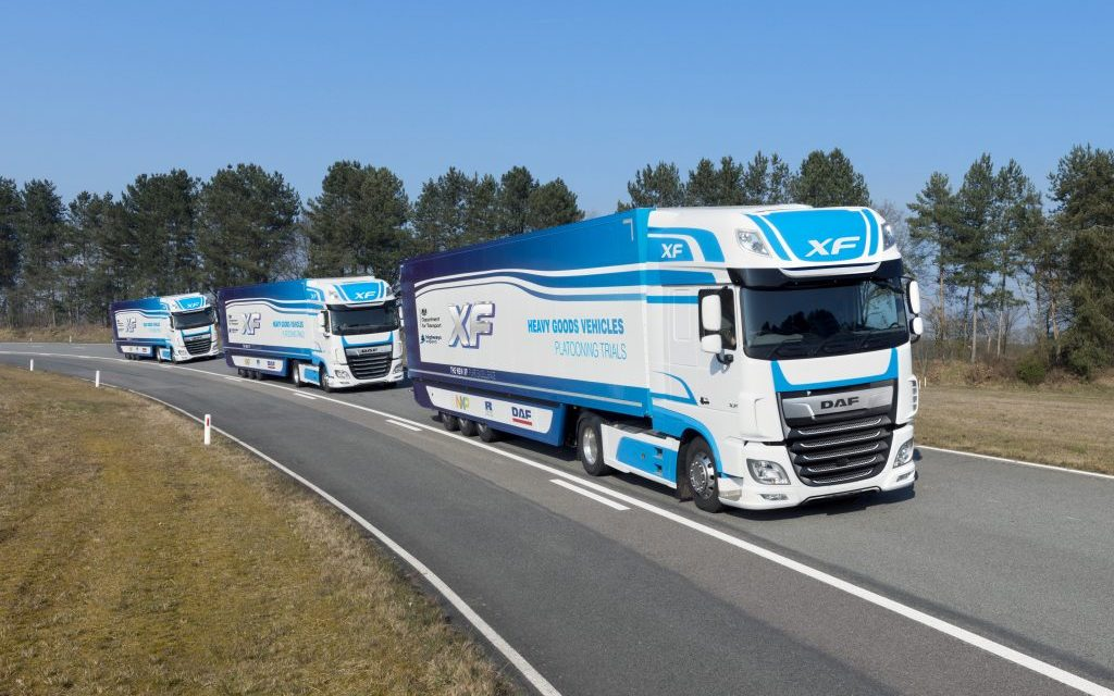 """""""Real world"""" platooning trial set to take place on UK roads"""