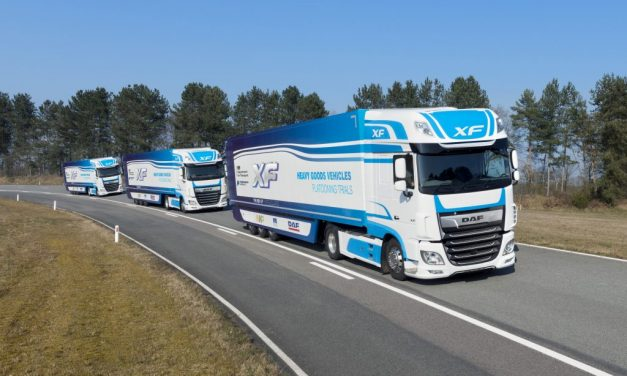 """Real world"" platooning trial set to take place on UK roads"
