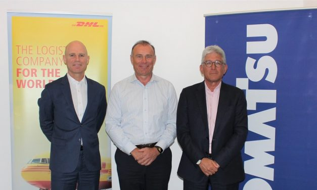 DHL to provide end-to-end air freight imports for Komatsu