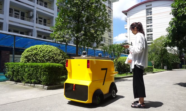 Meituan trials autonomous vehicles to cut delivery times