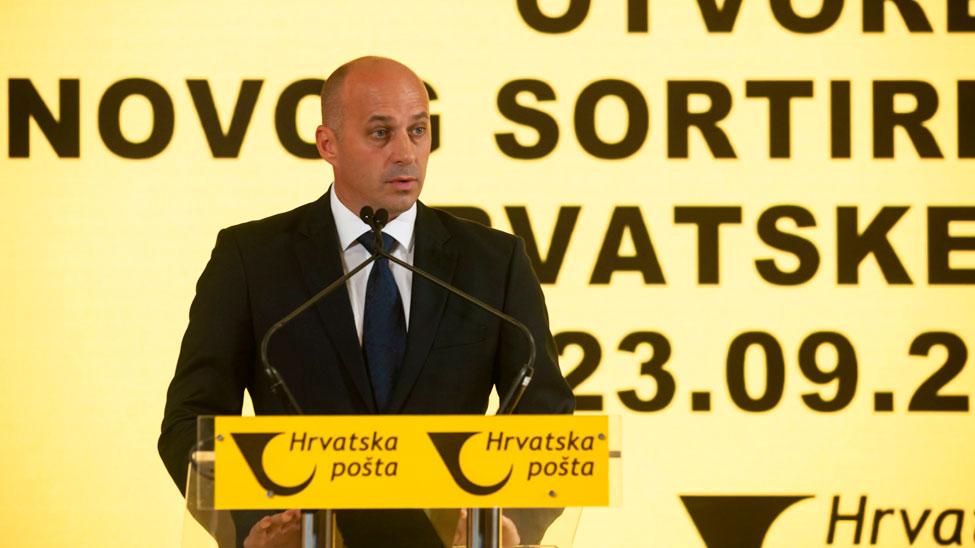 Croatian Post CEO Ivan Čulo
