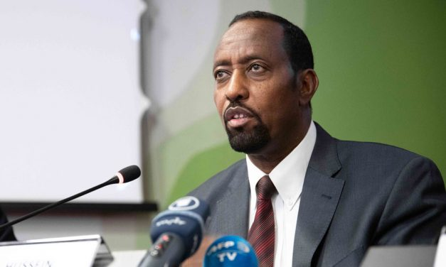 UPU Director General Bishar A. Hussein