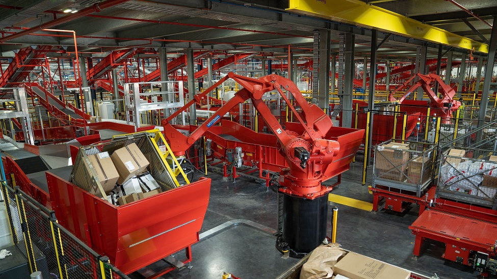 Processing begins at Australia Post's super hub