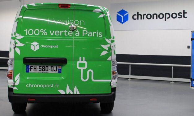 Chronopost brings zero-emission deliveries to Paris