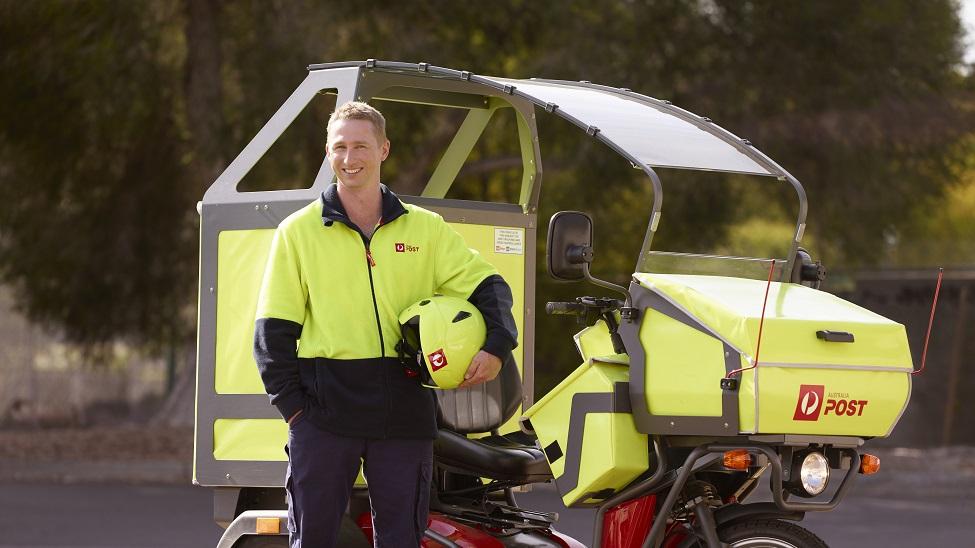 Australia Post's EVs help increase its peak capacity