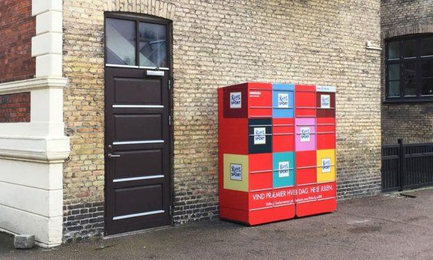 Ritter Sport spreads joy through Nærboks parcel lockers