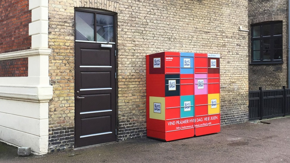 Ritter Sport spreads joy through Nærboks parcel lockers